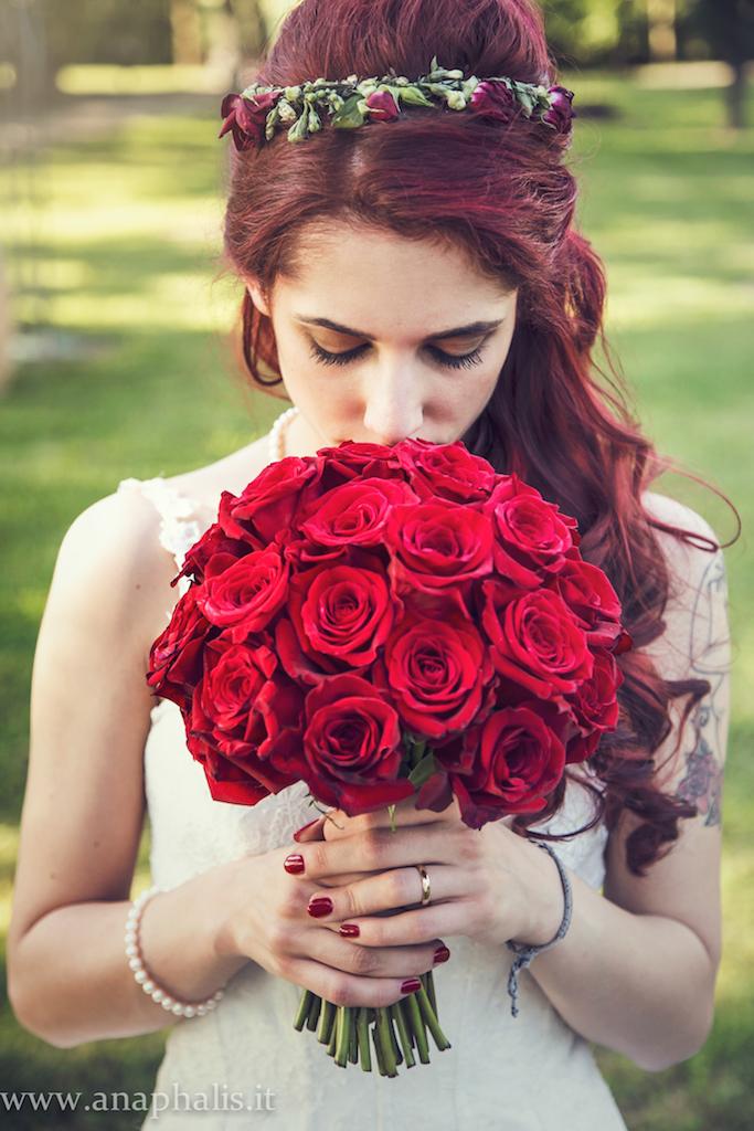 Matrimonio In Bianco E Rosso : Matrimonio bianco e rosso con tante ciliegie mele rosse